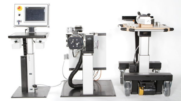 ROEMHELD prezentuje koncepcję nowej elektrycznej prasy montażowej.