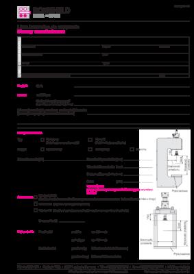 ROEMHELD – Lista kontrolna Prasy montażowe