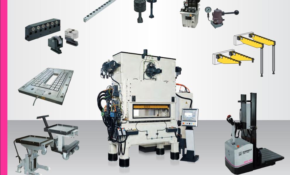 Systemy szybkiej wymiany narzędzi i tłoczników w automatach wykrawających i prasach szybkobieżnych